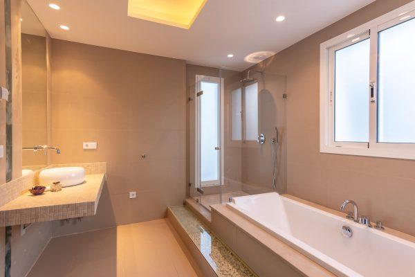 interior design project of modern villa in Marbella, Costa del Sol