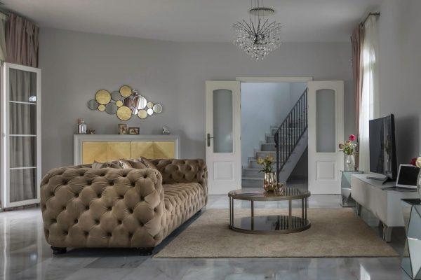 """Дизайн интерьера вилла в Марбелье, Коста дель Соль сделан нашей студией интерьерного дизайна """"Tania Marbella Interior Design"""". Стиль интерьера: неоклассический."""