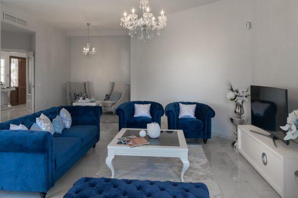 classical style interior design project: villa in Marbella, Costa del Sol