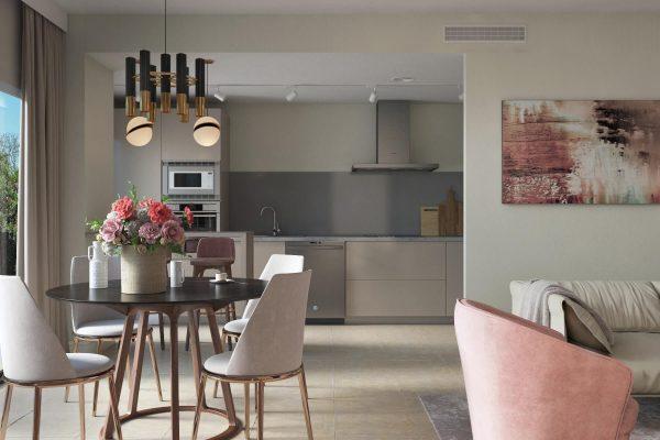 contemporary interior design apartment Marbella