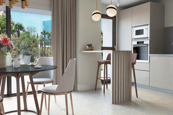 contemporary interior design apartments Marbella
