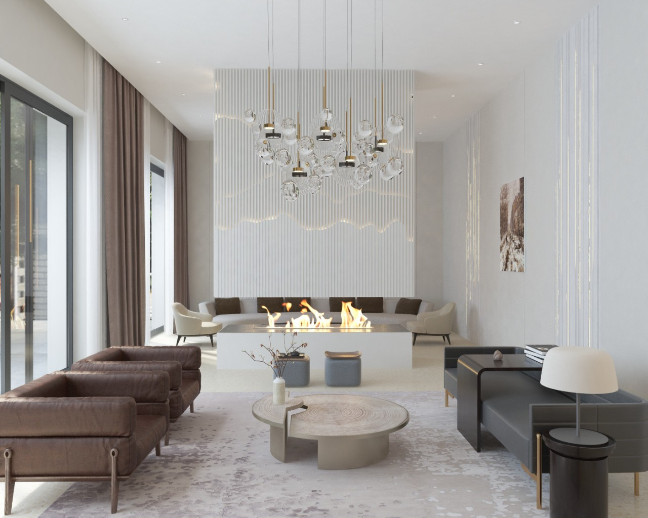 interior design villa benahavis