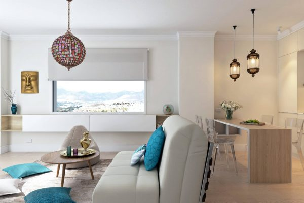 living room interior design feng-shui marbella